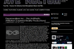 Ave Noctum - The Antithetic Affiliation