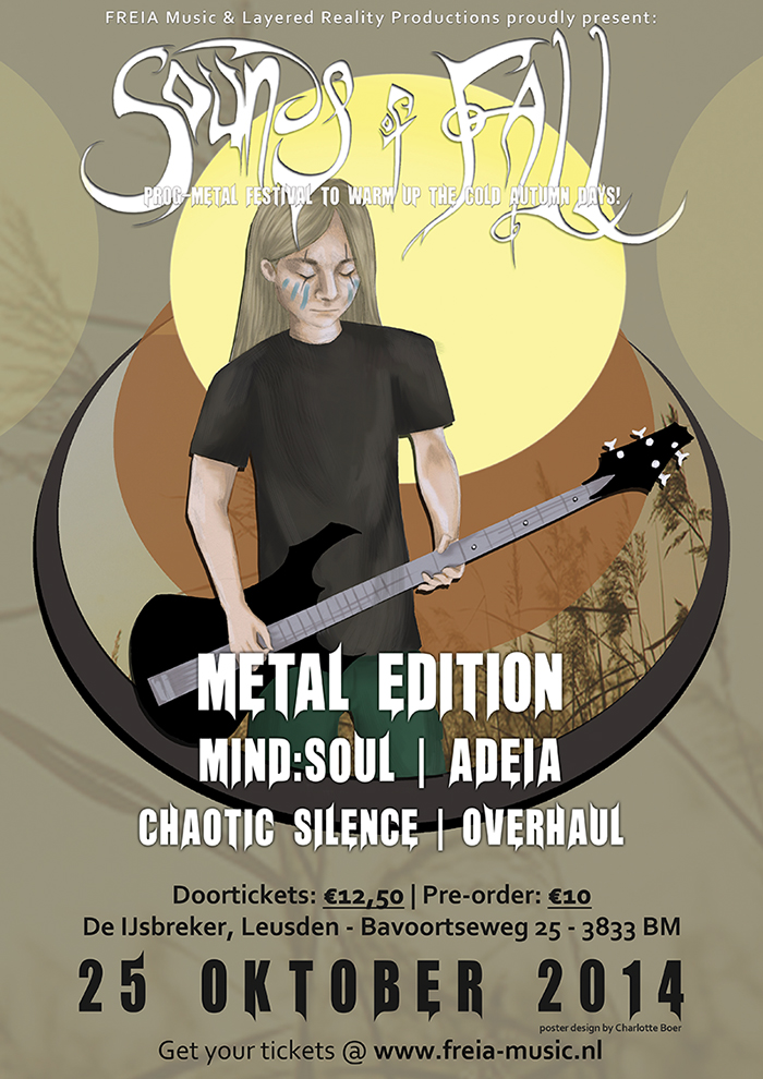 Sounds of Fall - Metal Edition - Official Poster