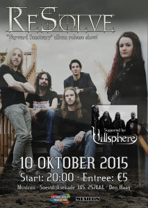ReSolve - Releaseshow Wayward Sanctuary - 10-10-2015