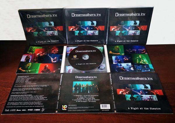 Dreamwalkers Inc - A Night at the Theatre - Digipack CD presentation picture!