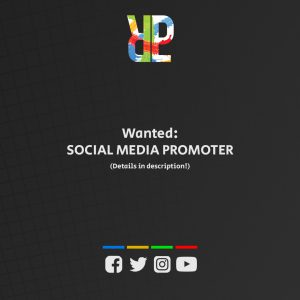 Social media promoter wanted!