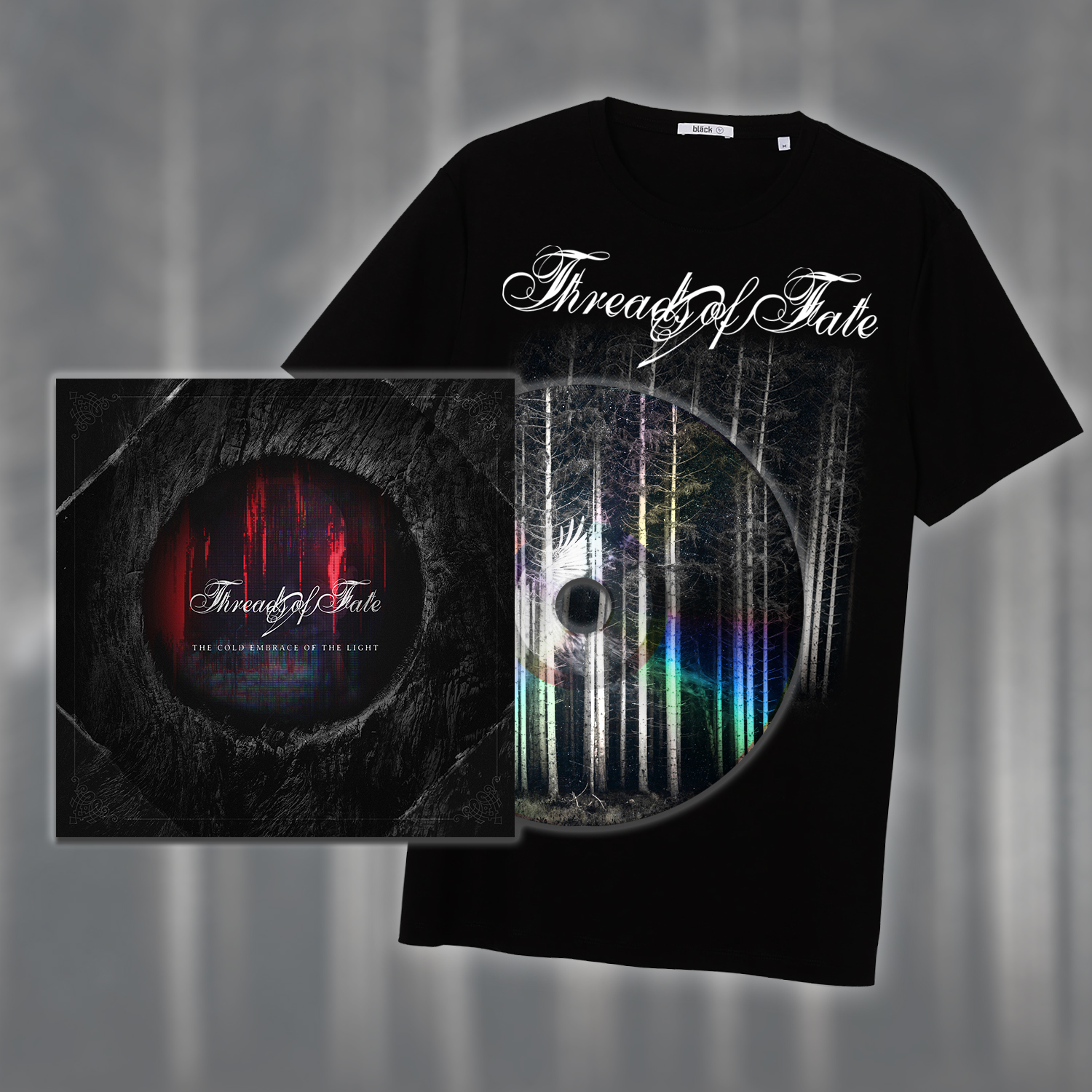 The Cold Embrace Of The Light - Digibook & T-Shirt